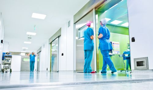 Picture for security in the healthcare industry