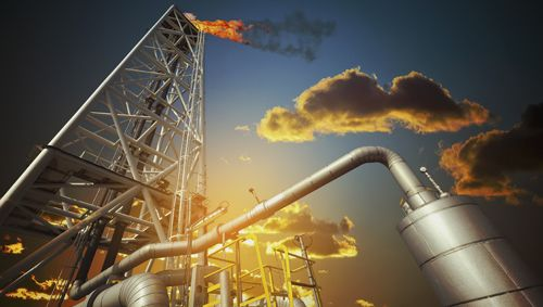 Picture for the gas & oil industry applications for material management