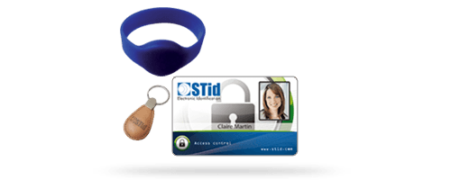 13.56 MHz credentials