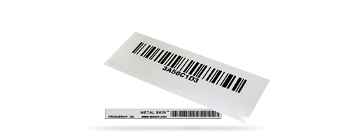 UHF on-metal labels