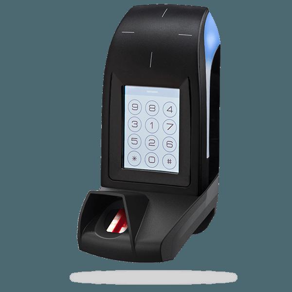 ARC-Q - 13.56 MHz LEGIC® Advant touch screen/keypad biometric readers