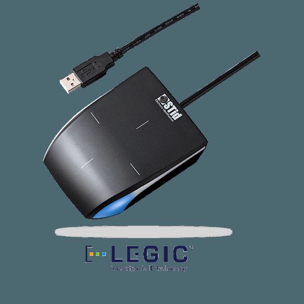 ARC-L desk - 13.56 MHz LEGIC® Advant desktop readers/encoders/enrollers