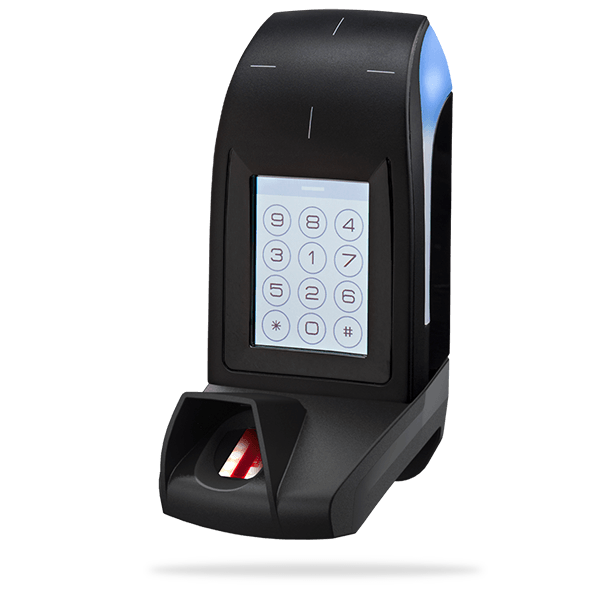 ARC-F - 13.56 MHz DESFire® EV2 touchscreen/keypad biometric readers